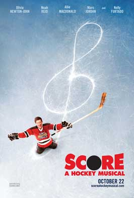 Score: A Hockey Musical - 43 x 62 Movie Poster - Bus Shelter Style A