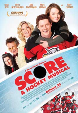 Score: A Hockey Musical - 11 x 17 Movie Poster - Style B