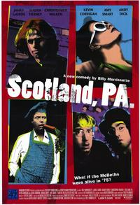 Scotland, PA - 43 x 62 Movie Poster - Bus Shelter Style A