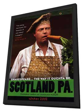 Scotland, PA - 27 x 40 Movie Poster - Style B - in Deluxe Wood Frame