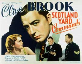 Scotland Yard Commands - 11 x 14 Movie Poster - Style A
