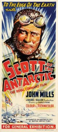 Scott of the Antarctic - 14 x 36 Movie Poster - Insert Style A