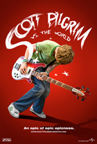 Scott Pilgrim vs the World - 11 x 17 Movie Poster - Style J