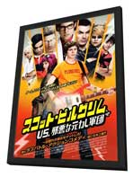 Scott Pilgrim vs the World - 27 x 40 Movie Poster - Japanese Style A - in Deluxe Wood Frame