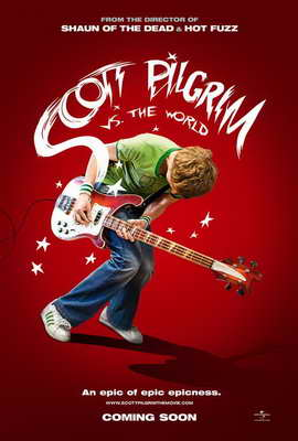 Scott Pilgrim vs the World - 27 x 40 Movie Poster - Style A