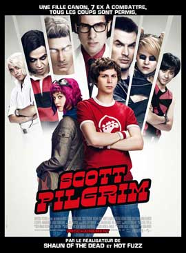 Scott Pilgrim vs the World - 11 x 17 Movie Poster - French Style A