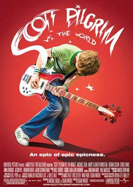 Scott Pilgrim vs the World - 27 x 40 Movie Poster - Style C