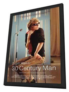 Scott Walker: 30 Century Man - 11 x 17 Movie Poster - UK Style A - in Deluxe Wood Frame