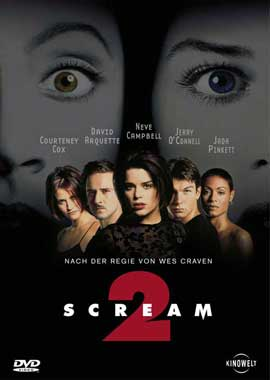 Scream 2 - 11 x 17 Movie Poster - German Style A