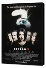 Scream 3 - 27 x 40 Movie Poster - Style B - Museum Wrapped Canvas