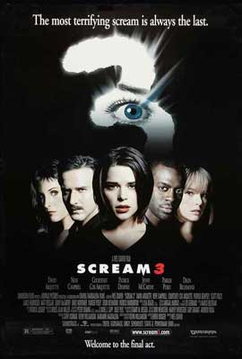 Scream 3 - 11 x 17 Movie Poster - Style A