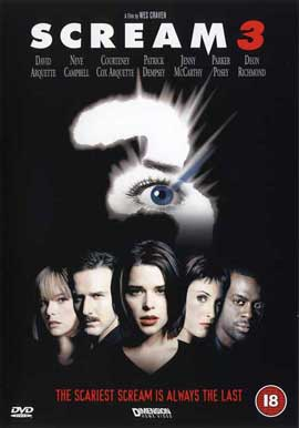 Scream 3 - 11 x 17 Movie Poster - UK Style A