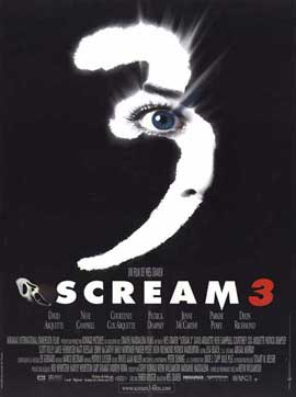 Scream 3 - 11 x 17 Movie Poster - French Style A