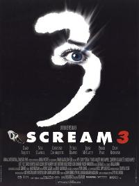 Scream 3 - 43 x 62 Movie Poster - French Style A