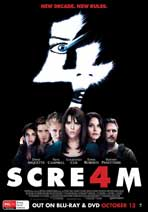Scream 4 - 11 x 17 Movie Poster - Australian Style A
