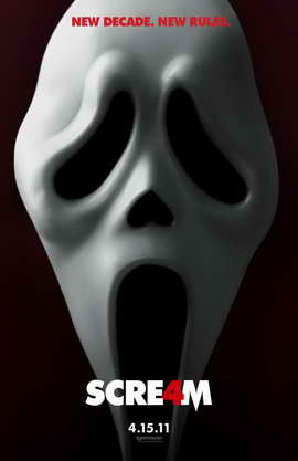 Scream 4 - 11 x 17 Movie Poster - Style A