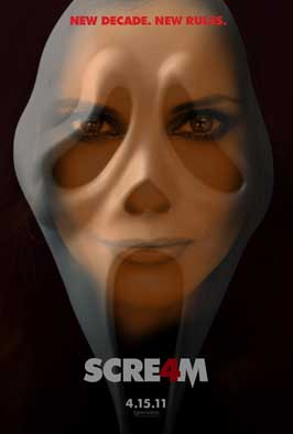 Scream 4 - 11 x 17 Movie Poster - Style C