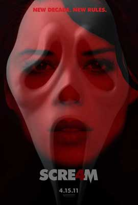 Scream 4 - 27 x 40 Movie Poster - Style D