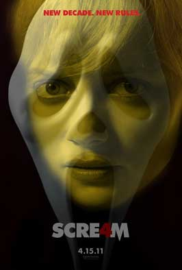 Scream 4 - 11 x 17 Movie Poster - Style E