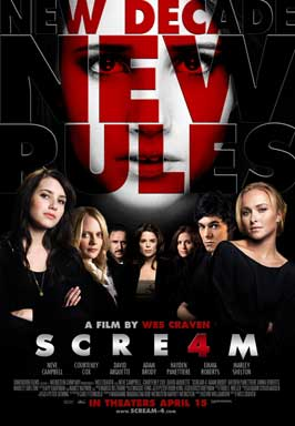 Scream 4 - 11 x 17 Movie Poster - Style F