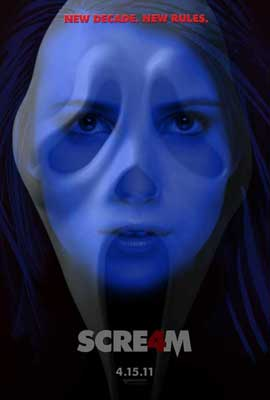 Scream 4 - 11 x 17 Movie Poster - Style H