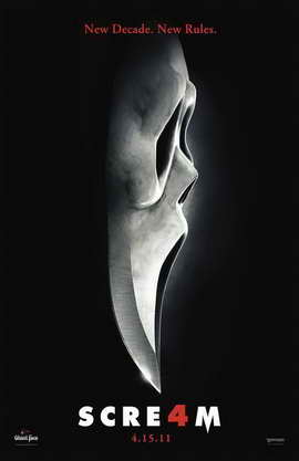 Scream 4 - 11 x 17 Movie Poster - Style J