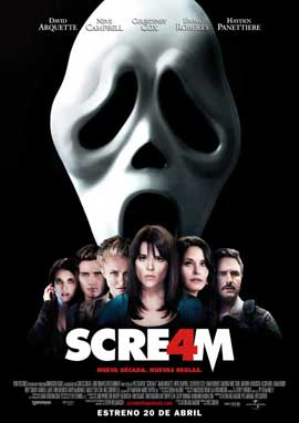 Scream 4 - 27 x 40 Movie Poster - Spanish Style B