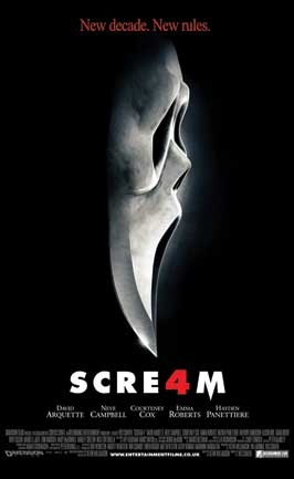 Scream 4 - 11 x 17 Movie Poster - UK Style A