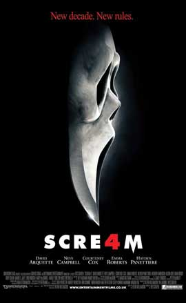 Scream 4 - 27 x 40 Movie Poster - UK Style A