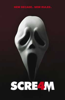 Scream 4 - 43 x 62 Movie Poster - Bus Shelter Style C