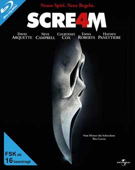 Scream 4 - 11 x 17 Movie Poster - German Style A
