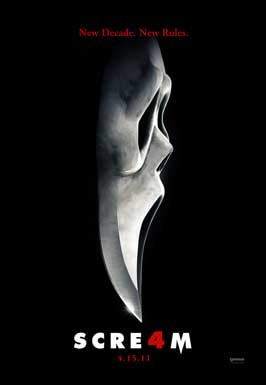 Scream 4 - DS 1 Sheet Movie Poster - Style C