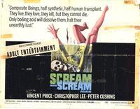 Scream and Scream Again - 11 x 14 Movie Poster - Style A