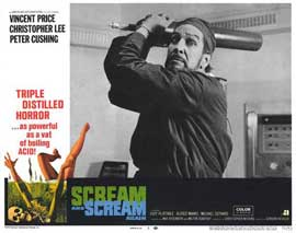 Scream and Scream Again - 11 x 14 Movie Poster - Style D