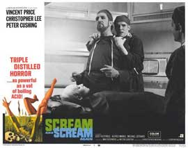 Scream and Scream Again - 11 x 14 Movie Poster - Style H