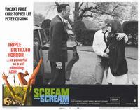 Scream and Scream Again - 11 x 14 Movie Poster - Style I