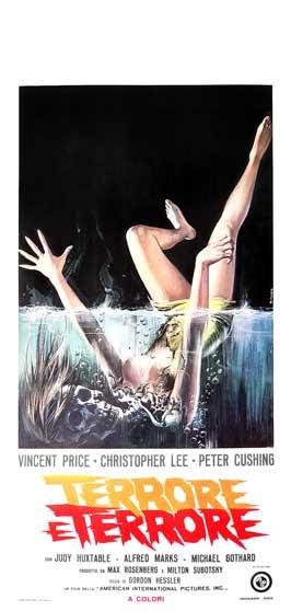 Scream and Scream Again - 13 x 28 Movie Poster - Italian Style A
