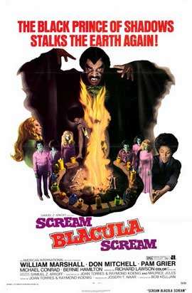 Scream Blacula Scream - 11 x 17 Movie Poster - Style A
