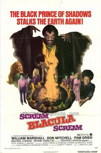 Scream Blacula Scream - 27 x 40 Movie Poster - Style A