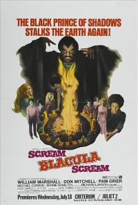 Scream Blacula Scream - 43 x 62 Movie Poster - Bus Shelter Style A