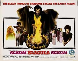 Scream Blacula Scream - 22 x 28 Movie Poster - Half Sheet Style A