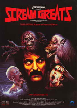 Scream Greats, Vol. 1: Tom Savini, Master of Horror Effects - 11 x 17 Movie Poster - Style A