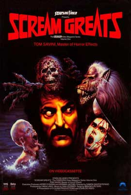 Scream Greats, Vol. 1: Tom Savini, Master of Horror Effects - 27 x 40 Movie Poster - Style A
