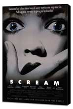 Scream - 11 x 17 Movie Poster - Style B - Museum Wrapped Canvas