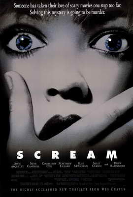 Scream - 11 x 17 Movie Poster - Style B