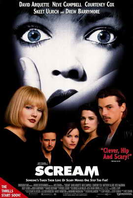 Scream - 27 x 40 Movie Poster - Style A
