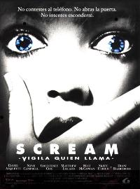 Scream - 11 x 17 Movie Poster - Spanish Style A