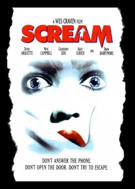 Scream - 27 x 40 Movie Poster - Style C