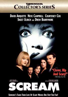 Scream - 11 x 17 Movie Poster - Style D