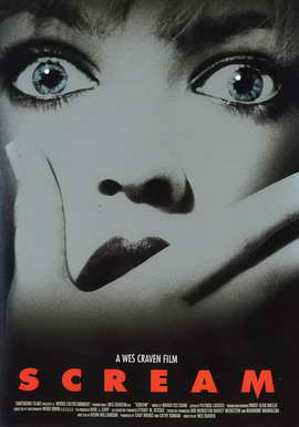 Scream - 11 x 17 Movie Poster - Style E